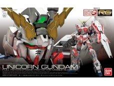 Bandai - RG Unicorn Gundam, Scale: 1/144, 16741