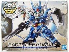 Bandai - SD Gundam Cross Silhouette Earthree Gundam, 59124