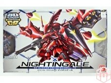 Bandai - SD Gundam Cross Silhouette Nightingale, 25764