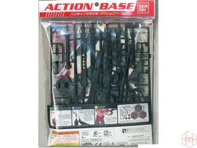 Bandai - Action Base 4 black, 23030 2