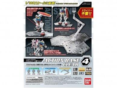 Bandai - Action Base 4 clear, 22131
