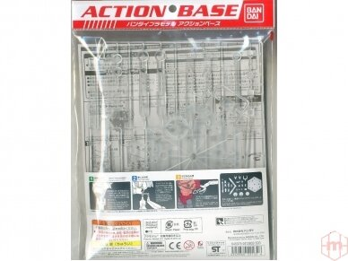 Bandai - Action Bazė 5 skaidri, 22132 2