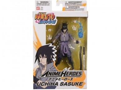 Bandai - ANIME HEROES NARUTO - UCHIHA SASUKE, 36902