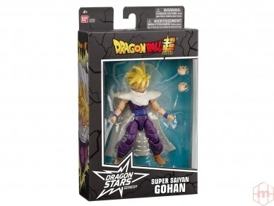 Bandai - DRAGON BALL DRAGON STARS SUPER SAIYAN GOHAN V2, 36767