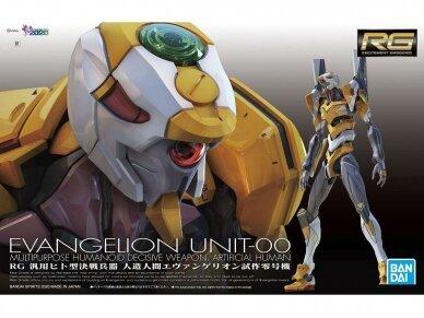 Bandai - RG  Artificial Human Evangelion Proto Type-00, Mastelis: 1/144, 60257