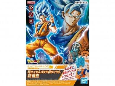 Bandai - Entry Grade Super Saiyan God Super Saiyan Son Goku, 58859