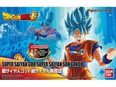 Bandai - Figure-rise Standard Super Saiyan God Super Saiyan Son Goku, 19546