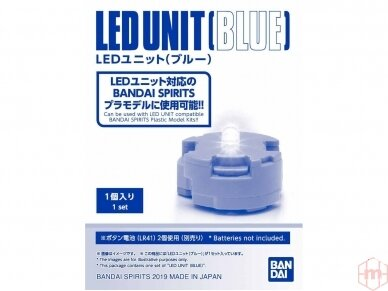 Bandai - Gunpla LED elementas, mėlynas, 56759