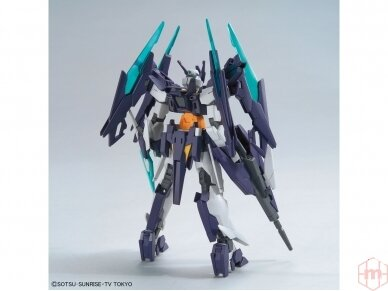 Bandai - HG Build Divers Gundam Age II Magnum, Mastelis: 1/144, 25725 3