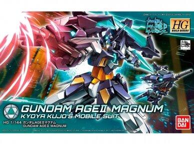 Bandai - HG Build Divers Gundam Age II Magnum, Mastelis: 1/144, 25725