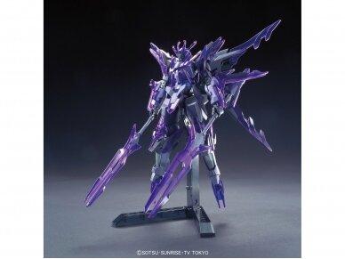 Bandai - HG Build Fighters Honoo Transient Gundam Glacier, Scale: 1/144, 55443 3