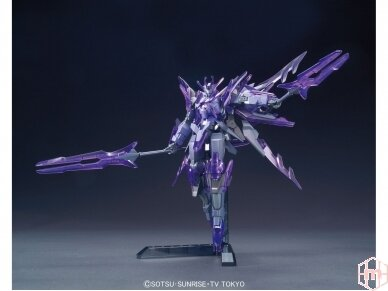 Bandai - HG Build Fighters Honoo Transient Gundam Glacier, Scale: 1/144, 55443 4