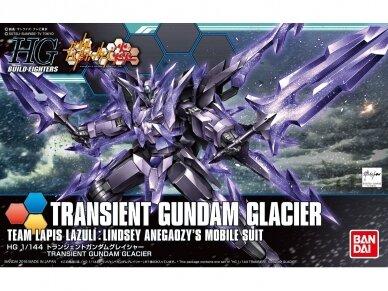 Bandai - HG Build Fighters Honoo Transient Gundam Glacier, Scale: 1/144, 55443