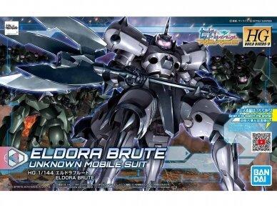 Bandai - HG Build Divers Eldora Brute, Mastelis: 1/144, 58306