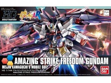 Bandai - HG Build Fighters A-R Amazing Strike Freedom Gundam, Mastelis: 1/144, 16576