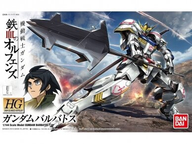 Bandai - HG Gundam Barbatos Iron-Blooded Orphans, Mastelis: 1/144, 57977