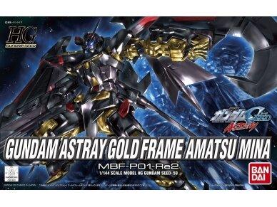 Bandai - HG Gundam Astray Gold Frame Amatsu Mina, Scale: 1/144, 83660