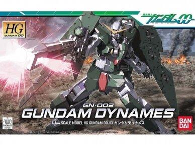 Bandai - HG GN-002 Gundam Dynames, Mastelis: 1/144, 59233