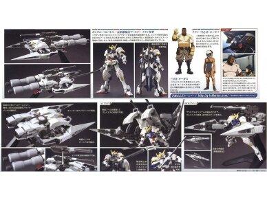 Bandai - HG Gundam Barbatos & Long Distance Transport Booster Kutan San Model, Mastelis: 1/144, 01891 4