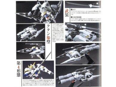 Bandai - HG Gundam Barbatos & Long Distance Transport Booster Kutan San Model, Mastelis: 1/144, 01891 5