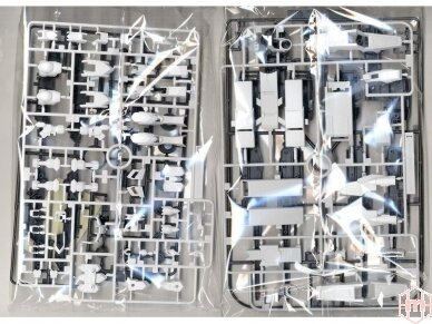 Bandai - HG Gundam Barbatos & Long Distance Transport Booster Kutan San Model, Mastelis: 1/144, 01891 6