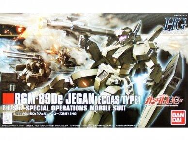 Bandai - HGUC Gundam Unicorn RGM-89De Jegan (Ecoas Type), Mastelis: 1/144, 56833