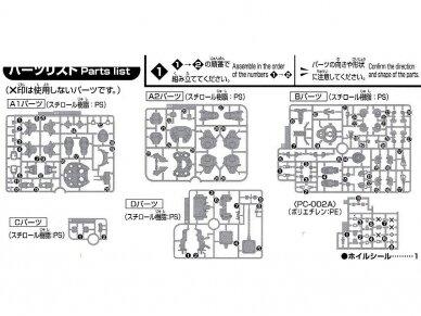 Bandai - HG Gundam Gusion, Mastelis: 1/144, 01878 6