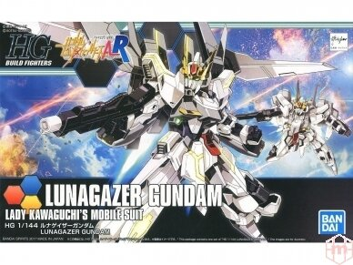 Bandai - HG Build Fighters Lunagazer Gundam, 1/144, 14477