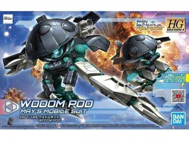 Bandai - HGBD:R Wodom Pod, Mastelis: 1/144, 60245