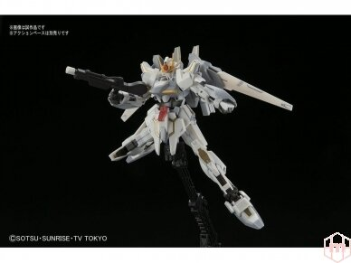 Bandai - HG Build Fighters Lunagazer Gundam, 1/144, 14477 4