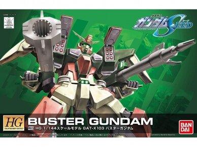 Bandai - HG Gundam Seed GAT-X103 Buster Gundam, Scale: 1/144, 73368