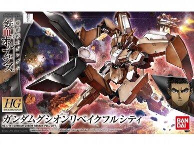Bandai - HG Gundam Gusion Rebake Full City Iron-Blooded Orphans: 1/144, 55447