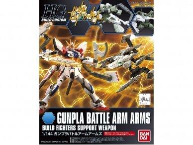 Bandai - HGBC Gunpla Battle Arm Arms, Scale: 1/144, 86526