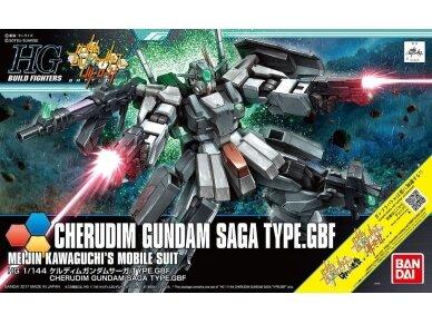 Bandai - HGBF Cherdim Gundam Saga Type.GBF, Scale: 1/144, 20705