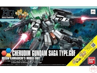Bandai - HGBF Cherdim Gundam Saga Type.GBF, Mastelis: 1/144, 20705