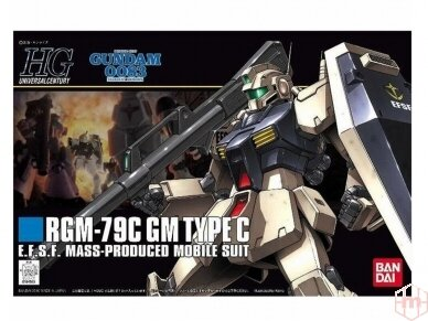 Bandai - HGUC RGM-79C GM Type C, 1/144, 59163