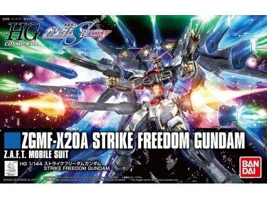 Bandai - HGCE Strike Freedom Gundam, Mastelis: 1/144, 55610