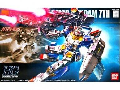 Bandai - HGUC FA-78-3 Full Armour Gundam 7th, Mastelis: 1/144, 59160