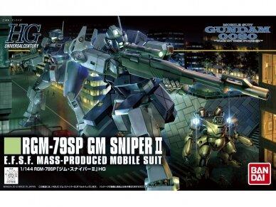 Bandai - HGUC RGM-79SP GM Sniper II, Mastelis: 1/144, 77916