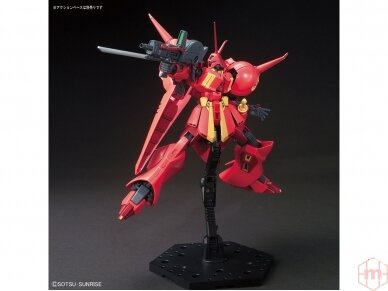 Bandai - HGUC Gundam ZZ AMX-104 R-JARJA, Scale: 1/144, 55716 4