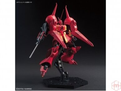 Bandai - HGUC Gundam ZZ AMX-104 R-JARJA, Scale: 1/144, 55716 5