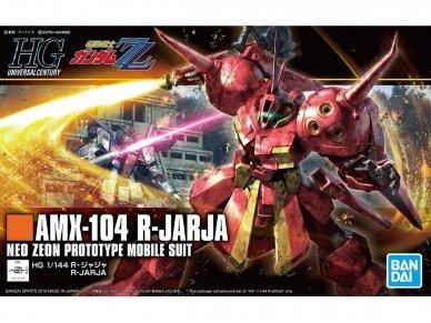 Bandai - HGUC Gundam ZZ AMX-104 R-JARJA, Scale: 1/144, 55716