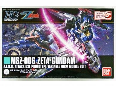 Bandai - HGUC MSZ-006 Zeta Gundam, 1/144, 55611