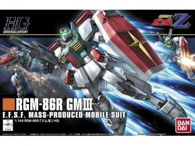 Bandai - HGUC Gundam RGM-86R GM III, 1/144, 55882