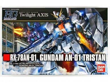"""Bandai - HGUC RX-78AN-01 Gundam AN-01 """"Tristan"""", 1/144, 18422 7"""
