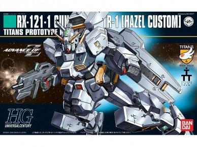 Bandai - HGUC RX-121-1 TR-1 Hazel-Custom, Mastelis: 1/144, 55608
