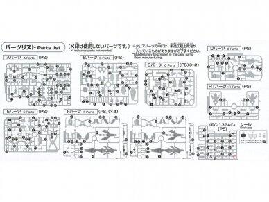 Bandai - HGUC Unicorn Gundam 03 Phenex, Mastelis: 1/144, 55342 13