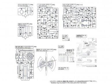 Bandai - MG Providence Gundam G.U.N.D.A.M Premium Edition, Mastelis: 1/100, 17166 14