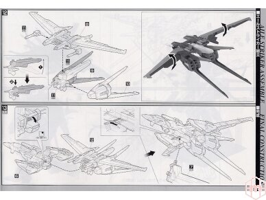 Bandai - PG Sky Grasper + Aile Striker, Scale: 1/60, 34101 16