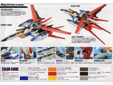 Bandai - PG Sky Grasper + Aile Striker, Scale: 1/60, 34101 6